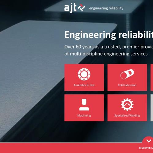 AJT Engineering have a brand new website!
